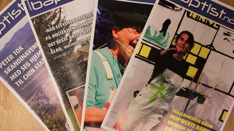 Les siste nummer av magasinet vårt!