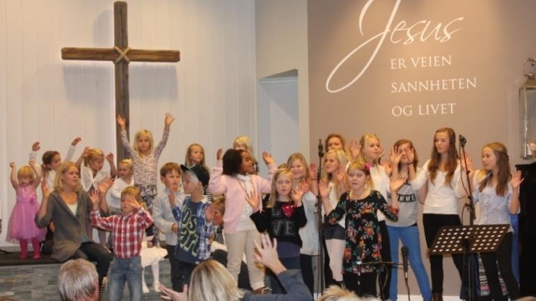 Vi vil at barn og unge skal møte Jesus og vokse i troen på Ham