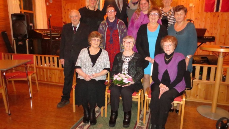 Feiret 70-årsdagen som egen menighet