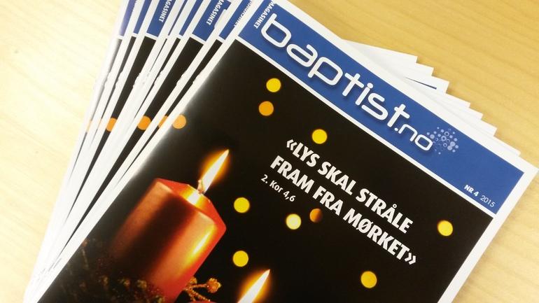 Les magasinet Baptist.no elektronisk