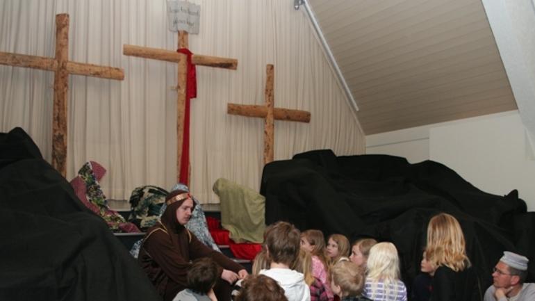 - Jesus ble korsfestet som en forbryter