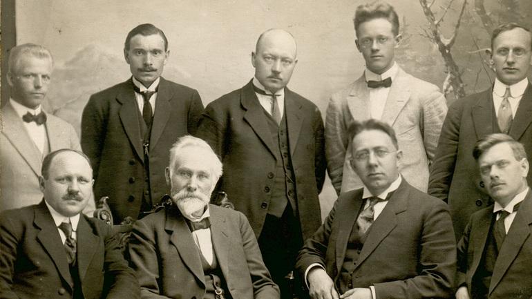 Fra fotosamlingene til Norsk Baptist-Historisk Selskap