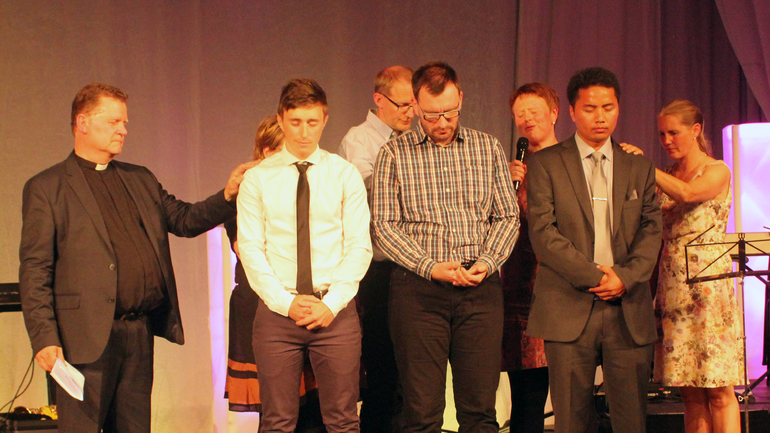 Tre nye pastorer