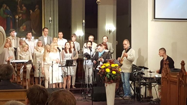 Baptistledere fra hele Europa samlet
