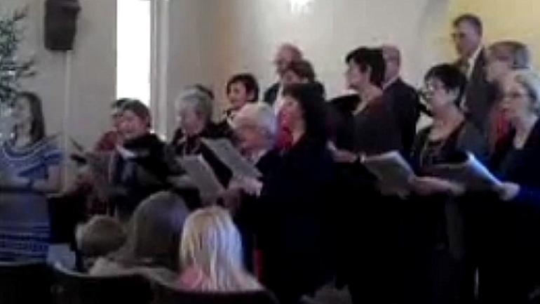 Ukrainsk julesang i Drammen
