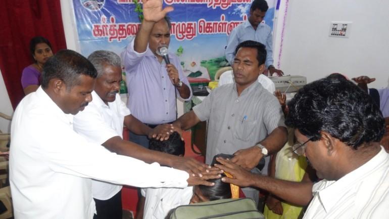 Første tamilske baptistkirke på Sri Lanka