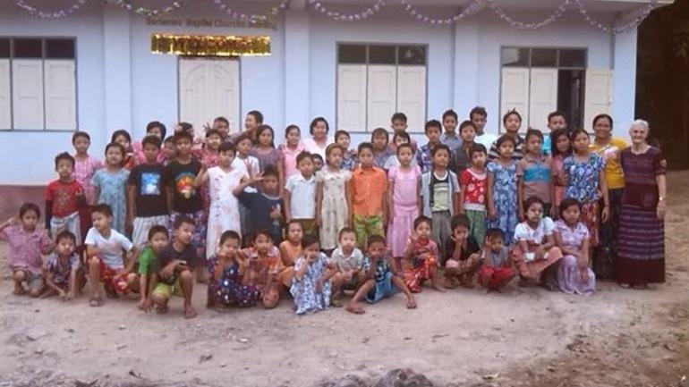 Bygde barnehjem med penger fra Borkenes
