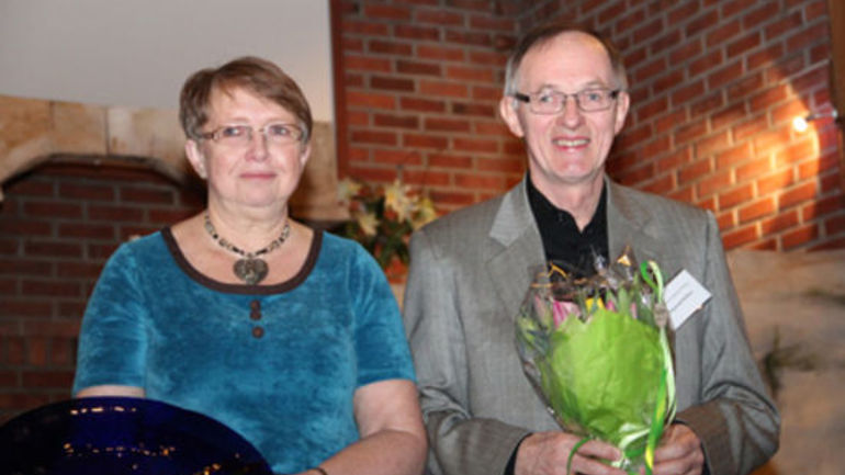 Anne Karin og Ommund Rolfsen fikk Økumenikkprisen