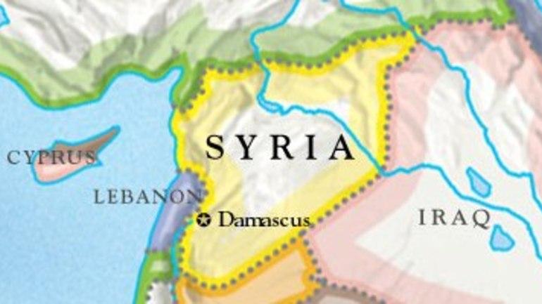 Forbønn for Syria