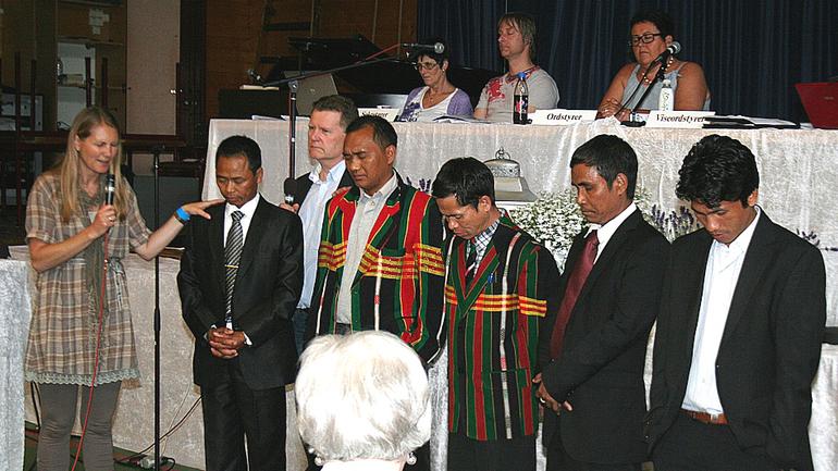 To nye menigheter tatt opp i Baptistsamfunnet