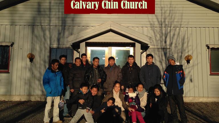 Calvary Chin Church flytter inn i ny kirke