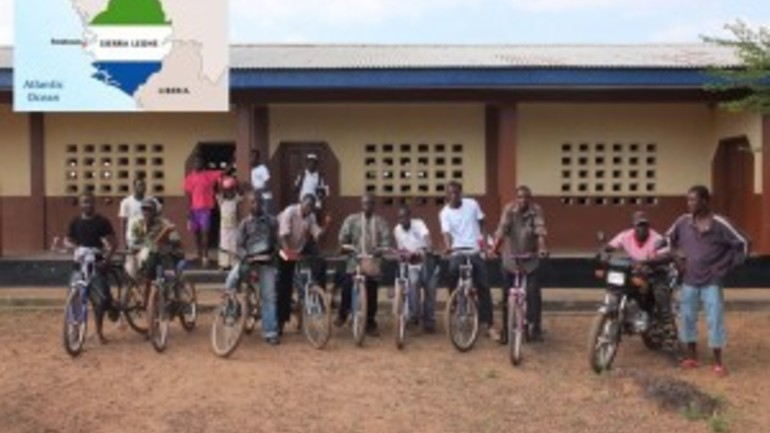 Nye menighetsledere i Sierra Leone