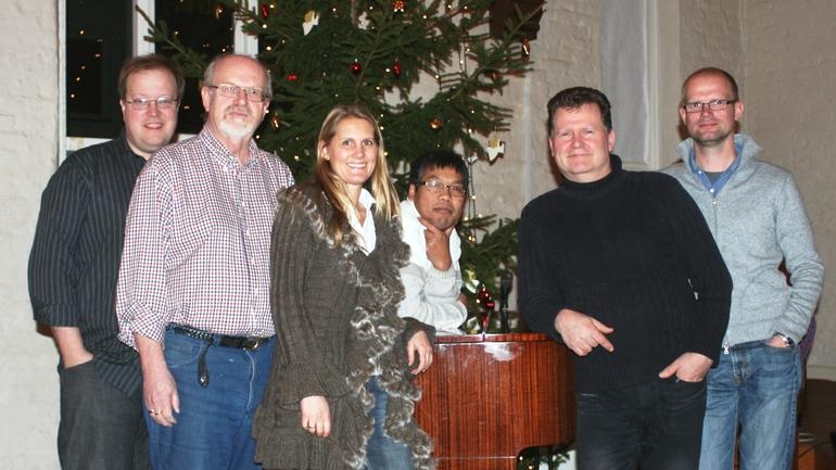 Med ønske om en velsignet jul og et godt nytt år