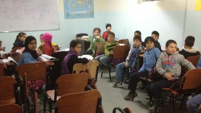 Hjelper syriske flyktninger