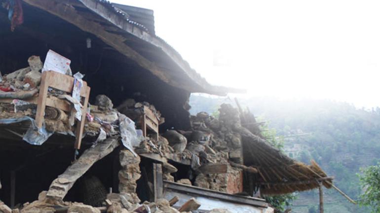 Sterkt berørt av jordskjelvet i Nepal