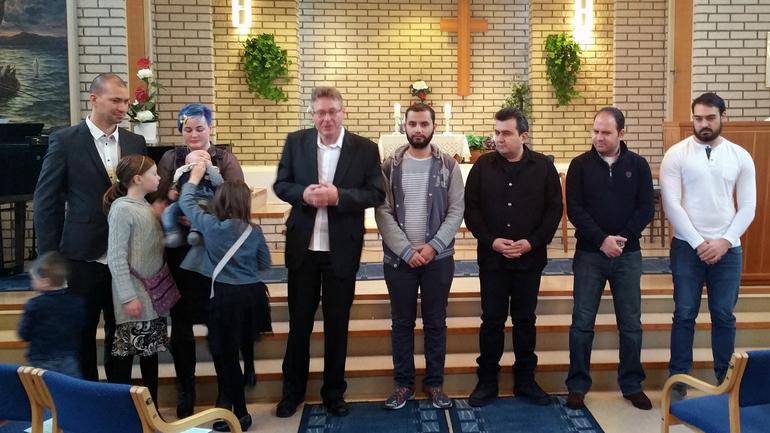 Dåp, velsignelser og nye medlemmer