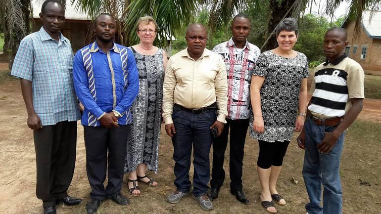 På evalueringsreise til Kongo