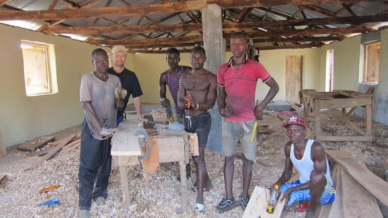 Sierra Leone og Norge - hand i hand om å bygge