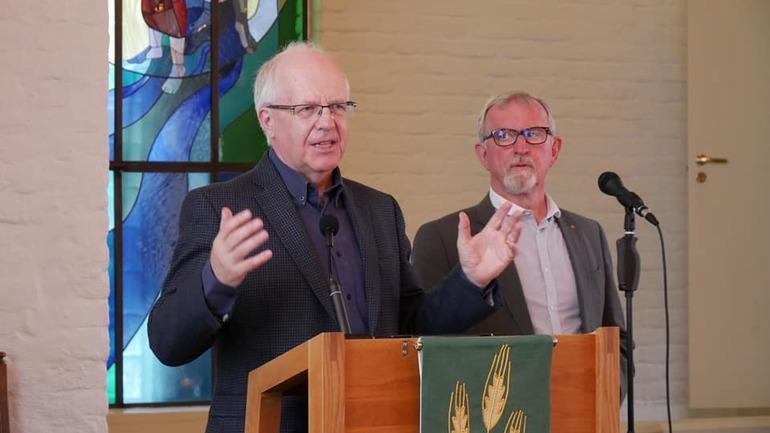 Tony Peck besøkte Drammen