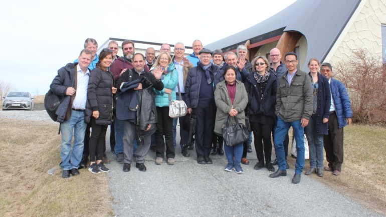 Europeiske baptistledere i Norge