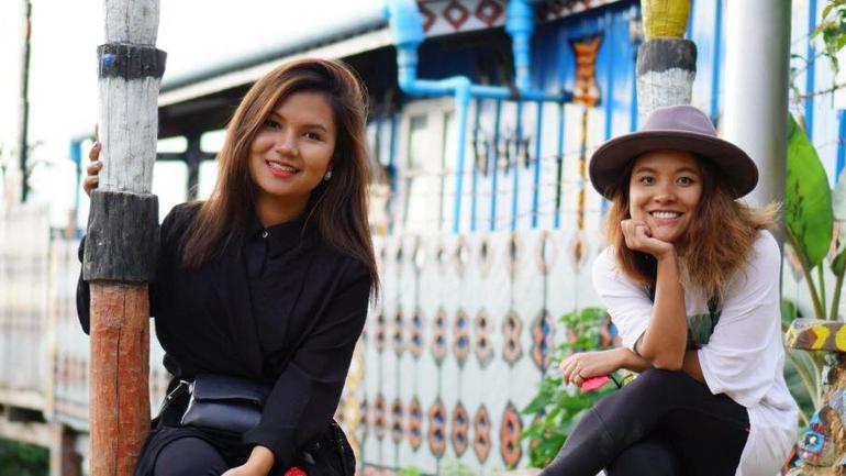 Voluntører i Hakha