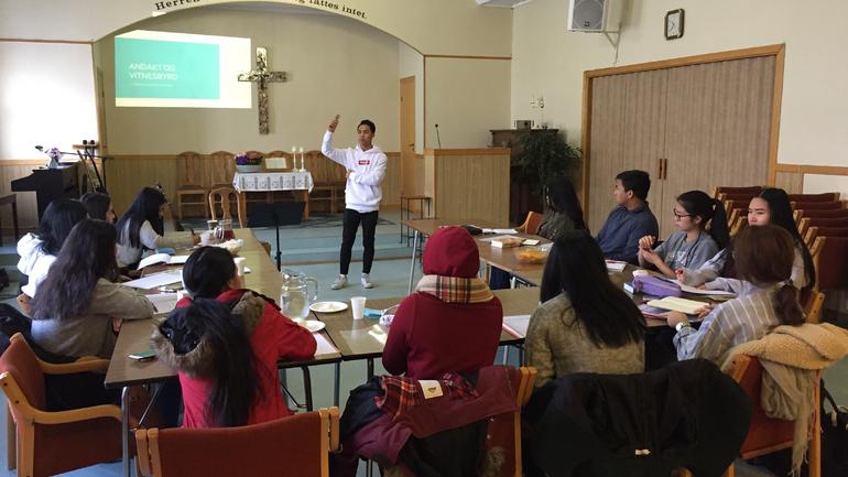 Lederkursene i Ung baptist når bredt