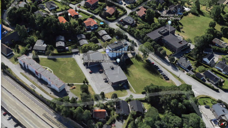 Åpent for boligbygging på folkehøyskolens eiendom
