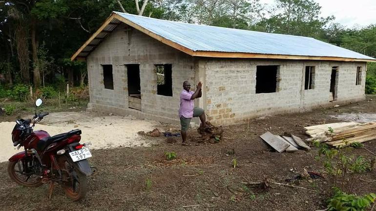 Nytt kirkebygg i Sierra Leone