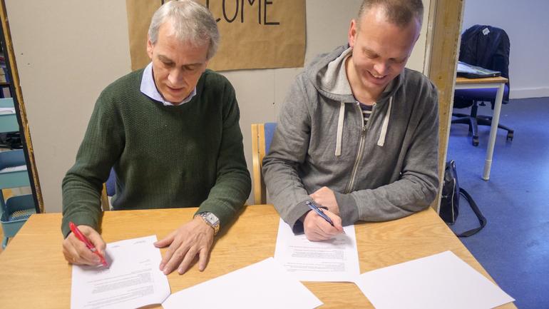 HLT og UIO inngår samarbeid